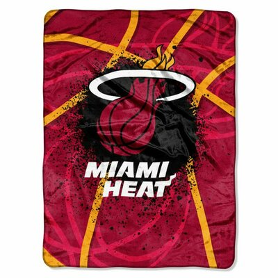 NBA Miami Heat Plush Throw