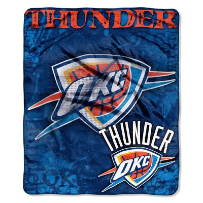 NBA Oklahoma City Thunder Raschel Throw