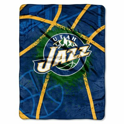 NBA Utah Jazz Plush Throw