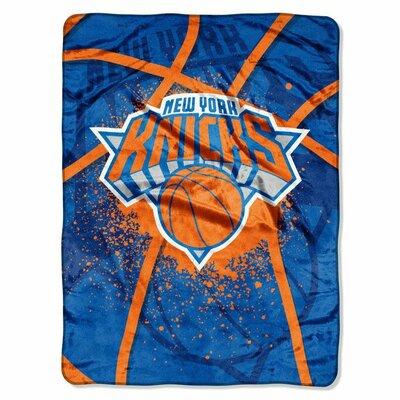 NBA New York Knicks Plush Throw