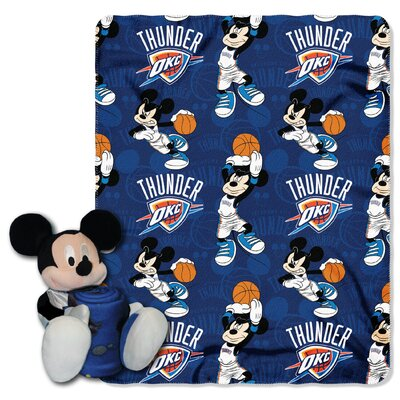 NBA Mickey Mouse Throw NBA Team: Oklahoma City Thunder