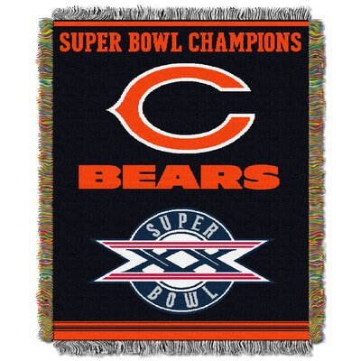 NFL Chicago Bears Commemorative Tapestry Throw