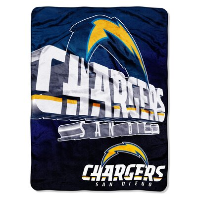 NFL San Diego Chargers Raschel Throw