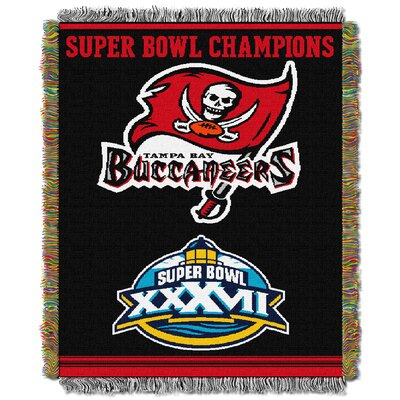 NFL Tampa Bay Buccaneers Commemorative Tapestry Throw