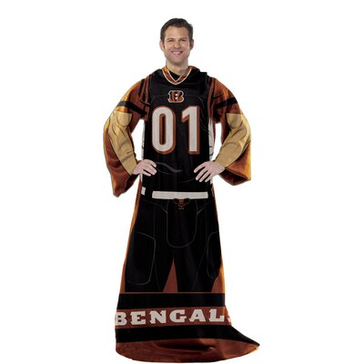 NFL Cincinnati Bengals Comfy Throw