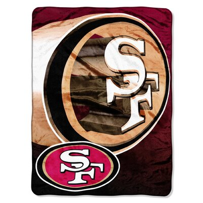 NFL San Francisco 49ers Raschel Throw