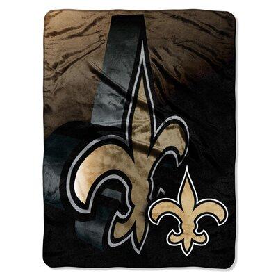 NFL New Orleans Saints Raschel Throw