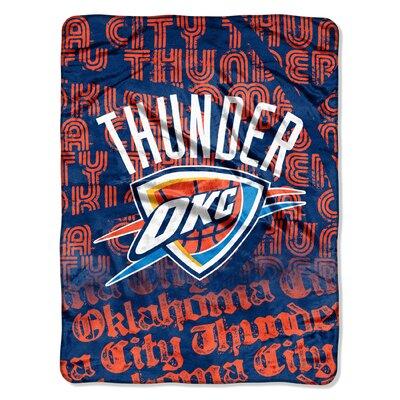 NBA Oklahoma City Thunder Micro Raschel Throw