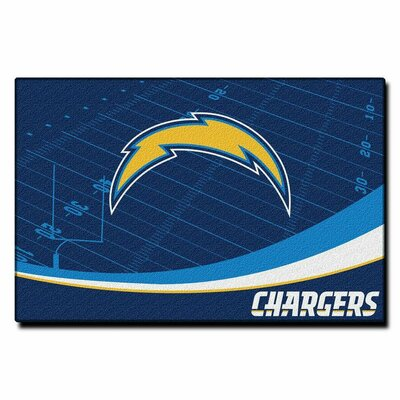 NFL San Diego Chargers Point Sport Novelty Rug
