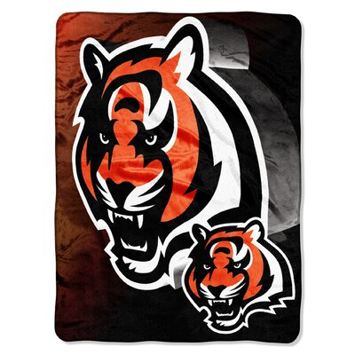NFL Cincinnati Bengals Raschel Throw