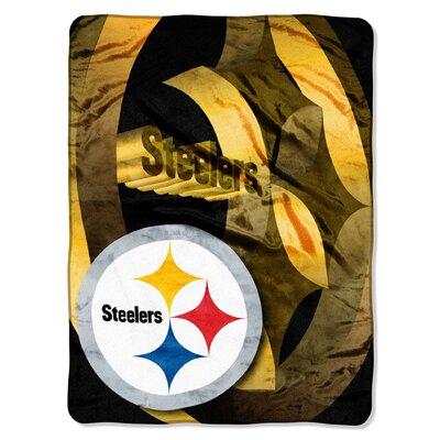 NFL Pittsburgh Steelers Raschel Throw