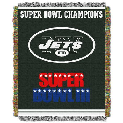 NFL New York Jets Commemorative Tapestry Throw