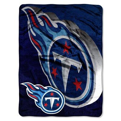 NFL Titans Bevel Raschel Throw