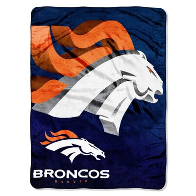 NFL Denver Broncos Raschel Throw