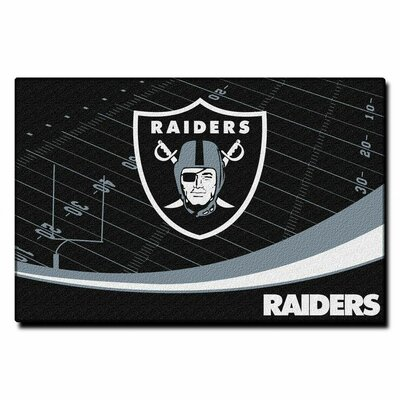 NFL Oakland Raiders Point Sport Novelty Rug