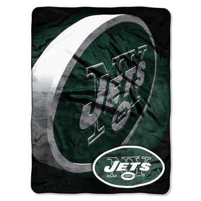 NFL New York Jets Raschel Throw