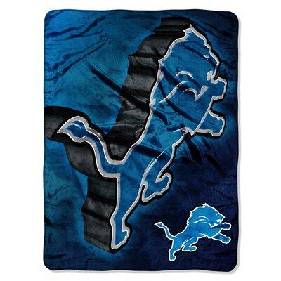 NFL Detroit Lions Raschel Throw