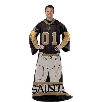 NFL New Orleans Saints Comfy Throw