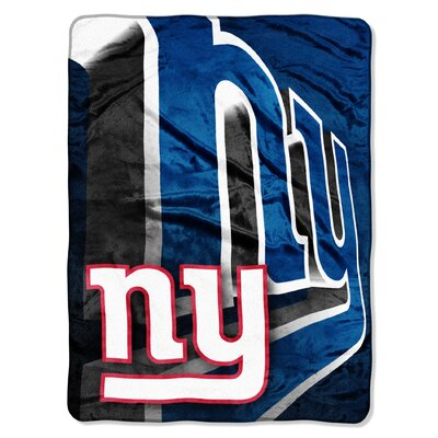 NFL New York Giants Raschel Throw