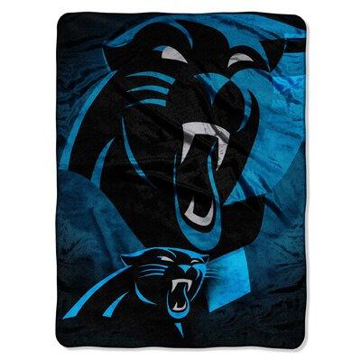 NFL Carolina Panthers Raschel Throw