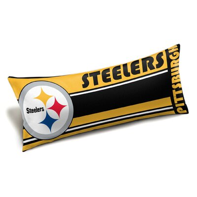 NFL Seal Bed Rest Pillow NFL Team: Steelers