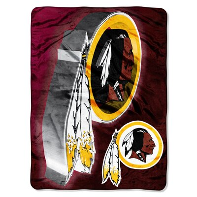 NFL Washington Redskins Raschel Throw