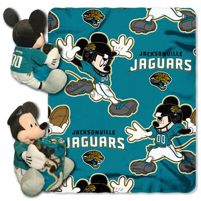 NFL Mickey Mouse Throw NFL Team: Jacksonville Jaguars