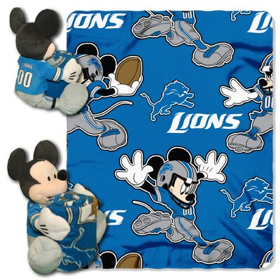 NFL Mickey Mouse Throw NFL Team: Detroit Lions