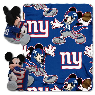NFL Mickey Mouse Throw NFL Team: New York Giants