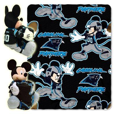 NFL Mickey Mouse Throw NFL Team: Carolina Panthers