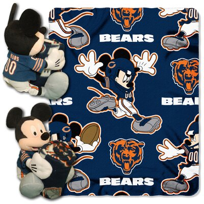NFL Mickey Mouse Throw NFL Team: Chicago Bears