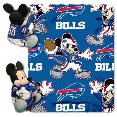 NFL Mickey Mouse Throw NFL Team: Buffalo Bills