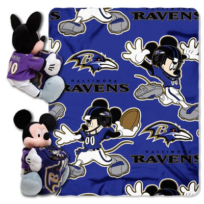NFL Mickey Mouse Throw NFL Team: Baltimore Ravens