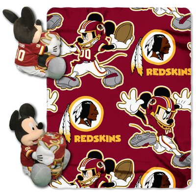 NFL Mickey Mouse Throw NFL Team: Washington Redskins