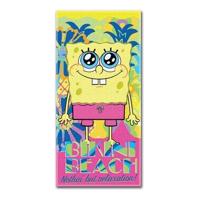 Entertainment Spongebob Squarepants Beach Towel
