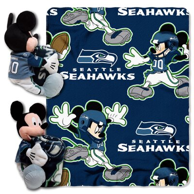 NFL Mickey Mouse Throw NFL Team: Seattle Seahawks