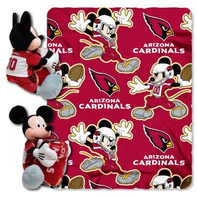 NFL Mickey Mouse Throw NFL Team: Arizona Cardinals