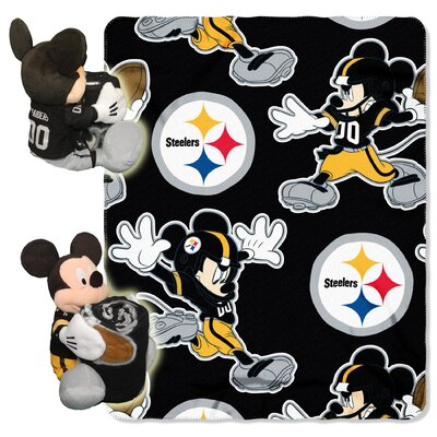 NFL Mickey Mouse Throw NFL Team: Pittsburgh Steelers