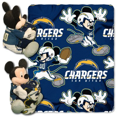 NFL Mickey Mouse Throw NFL Team: San Diego Chargers