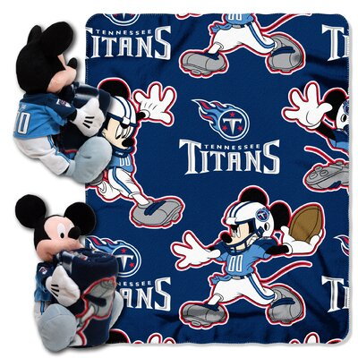 NFL Mickey Mouse Throw NFL Team: Tennessee Titans