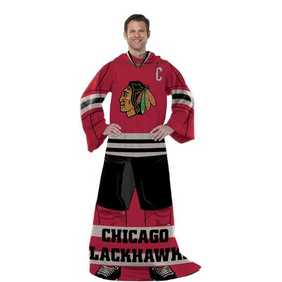 NHL Chicago Blackhawks Full Body Comfy Fleece Throw