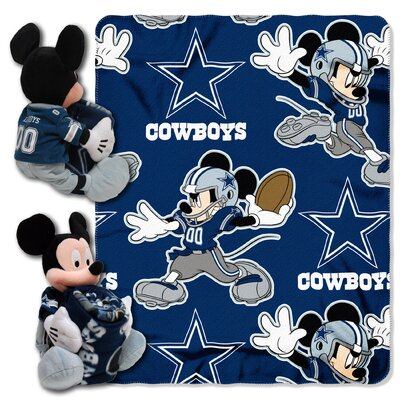 NFL Mickey Mouse Throw NFL Team: Dallas Cowboys