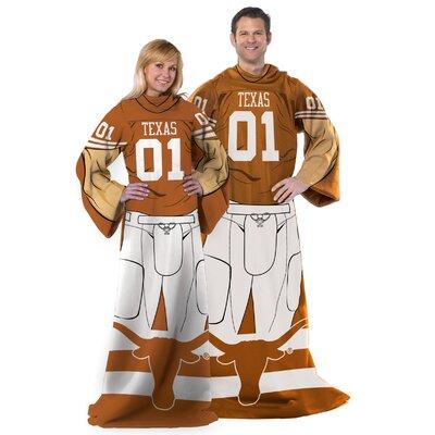 College NCAA Texas Comfy Throw