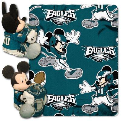 NFL Mickey Mouse Throw NFL Team: Philadelphia Eagles