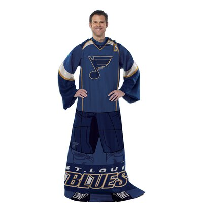 NHL St. Louis Blues Full Body Comfy Fleece Throw