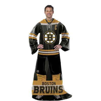 NHL Boston Bruins Full Body Comfy Throw