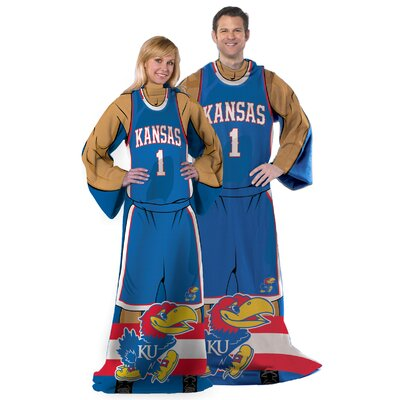 College NCAA Kansas Comfy Throw