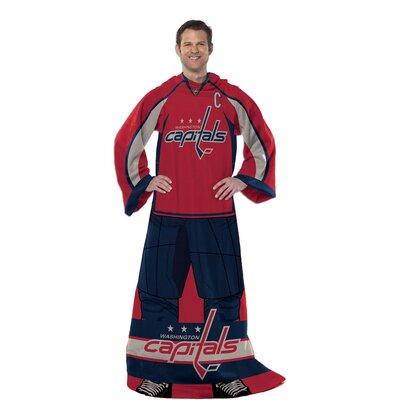 NHL Washington Capitals Full Body Comfy Fleece Throw
