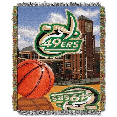 NCAA UNC Charlotte Tapestry Throw