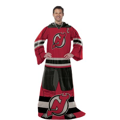 NHL New Jersey Devils Full Body Comfy Fleece Throw